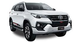 Toyota Fortuner SUV Rental